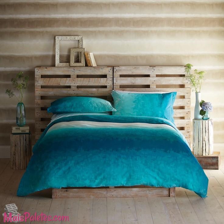 Muebles camas de madera con pallets for Cama palets