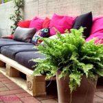 12 Espaços Lounge Exterior feitos com Paletes