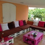 Espaço Lounge com Paletes