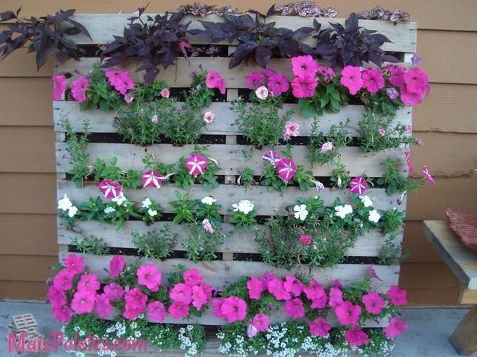 Preferência jardim vertical com pallets (8)Móveis de Paletes OQ39
