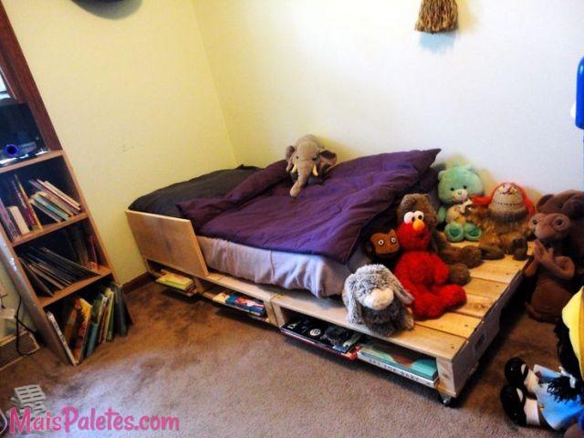 9 Camas Para Crianca Feitas Com Pallets