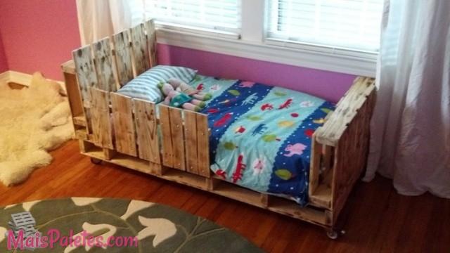 9 camas para crian a feitas com pallets - Trabajar con palets ...