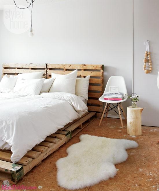 12 camas e as suas cabeceiras todas feitas com paletes de - Forrar cabecero de cama ...