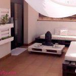 9 Espaços Lounge Incríveis, feitos com paletes
