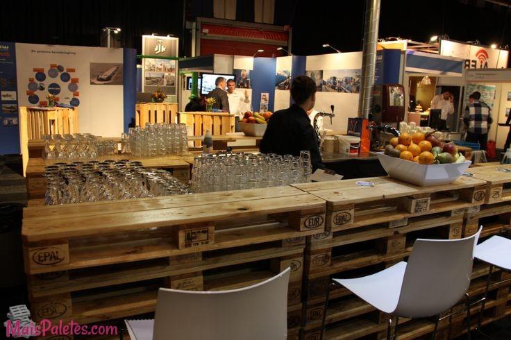 Preferência Restaurantes e Bares com Paletes de Madeira DB51