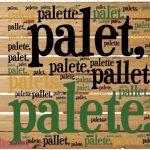 Como se escreve? Pallets, Paletes ou Palettes