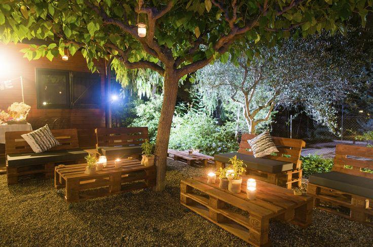 ideias jardim exterior:Espaço ExteriorMóveis De Paletes