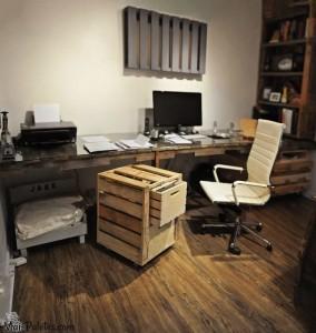 Pallet Desk - Escritório com paletes
