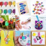Artesanato de argila para criancas perfeito para diversao em dias