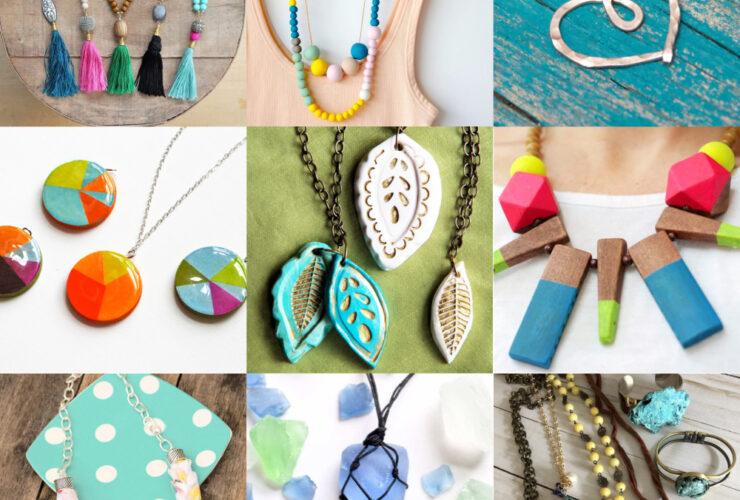 Colares DIY mais de 30 ideias para presentes ou venda