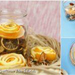 DIY Flores decorativas de laranja Faca voce mesmo e