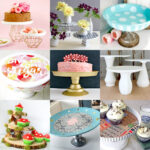 Suportes para bolos DIY para entretenimento ou decoracao