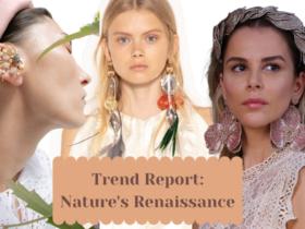 TENDENCIAS DE JOIAS Nature Renaissance