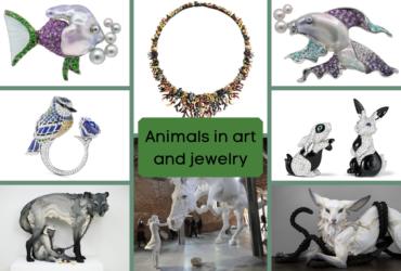 interpretacoes de animais em joias e arte
