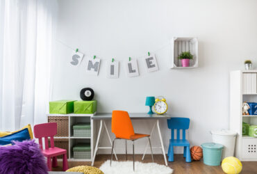 simple tudy room for kids