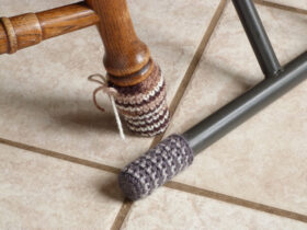 1. Crochet Chair and Table Socks