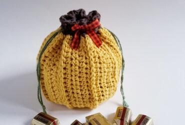 1. Rustic Pumpkin Favor Bag