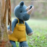 Amigurumi Rhino padrao de croche gratis • Paixao artesanal