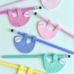 Artesanato de feltro para criancas Charlotte artesanal