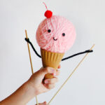 Artesanato de sorvete Faca voce mesmo Charlotte artesanal