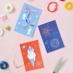 Artesanato infantil para o 4 de julho