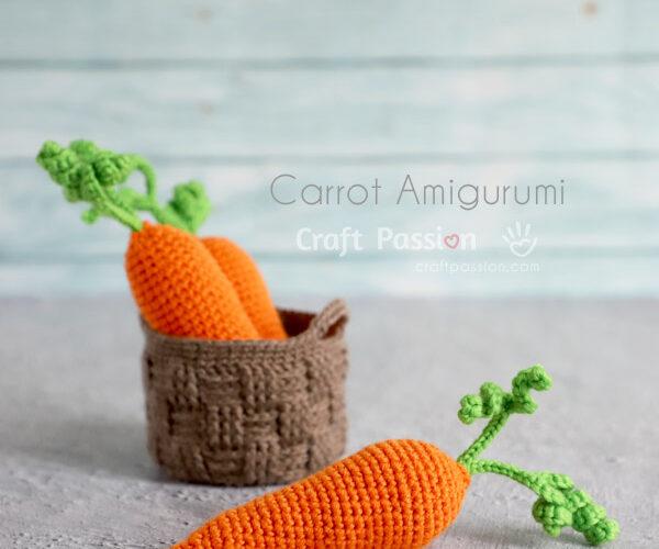 Cenoura Amigurumi Padrao de Croche Gratis • Paixao Artesanal
