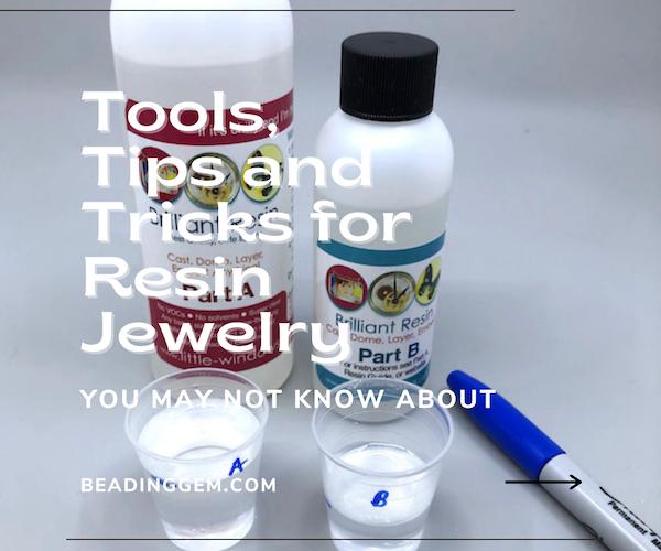Dicas e ferramentas para a fabricacao de joias de resina