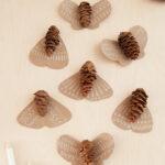 Mariposas Pinecone Charlotte artesanal