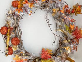 dollar tree fall wreath scaled